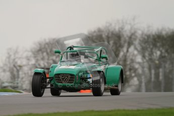 © Octane Photographic Ltd. Motors TV day – Donington Park, Saturday 31st March 2012. Caterham Graduates - Mega and Classic classes. Digital ref : 0267lw7d7956