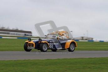 © Octane Photographic Ltd. Motors TV day – Donington Park,  Saturday 31st March 2012. Caterham Graduates - Mega and Classic classes. Digital ref : 0267lw7d8132