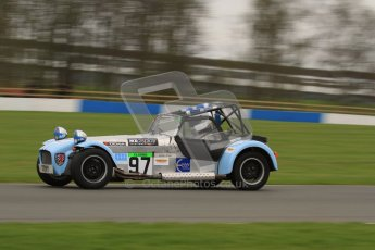 © Octane Photographic Ltd. Motors TV day – Donington Park,  Saturday 31st March 2012. Caterham Graduates - Mega and Classic classes. Digital ref : 0267lw7d8139