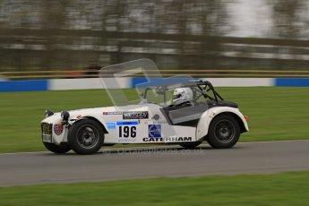 © Octane Photographic Ltd. Motors TV day – Donington Park,  Saturday 31st March 2012. Caterham Graduates - Mega and Classic classes. Digital ref : 0267lw7d8150
