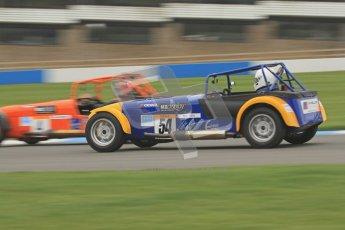 © Octane Photographic Ltd. Motors TV day – Donington Park,  Saturday 31st March 2012. Caterham Graduates - Mega and Classic classes. Digital ref : 0267lw7d8162