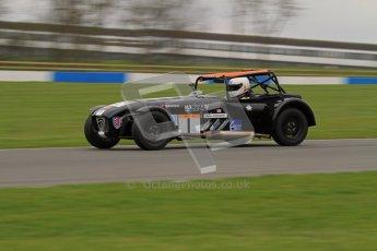 © Octane Photographic Ltd. Motors TV day – Donington Park,  Saturday 31st March 2012. Caterham Graduates - Mega and Classic classes. Digital ref : 0267lw7d8169