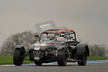 © Octane Photographic Ltd. Motors TV day – Donington Park,  Saturday 31st March 2012. Caterham Graduates - Mega and Classic classes. Digital ref : 0267lw7d8243