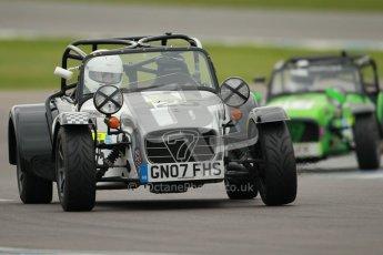 © Octane Photographic Ltd. Motors TV day – Donington Park, Saturday 31st March 2012. Caterham Graduates – Super and Sigma classes. Digital ref : 0269cb1d0238