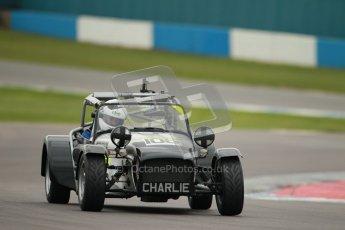© Octane Photographic Ltd. Motors TV day – Donington Park, Saturday 31st March 2012. Caterham Graduates – Super and Sigma classes. Digital ref : 0269cb1d0260
