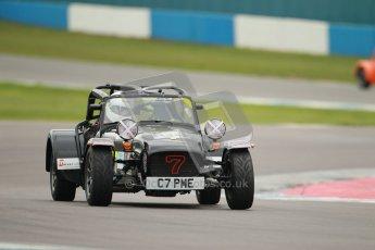 © Octane Photographic Ltd. Motors TV day – Donington Park, Saturday 31st March 2012. Caterham Graduates – Super and Sigma classes. Digital ref : 0269cb1d0277