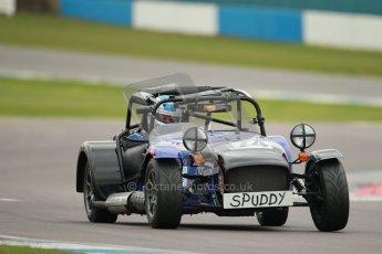 © Octane Photographic Ltd. Motors TV day – Donington Park, Saturday 31st March 2012. Caterham Graduates – Super and Sigma classes. Digital ref : 0269cb1d0298