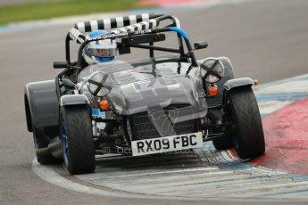 © Octane Photographic Ltd. Motors TV day – Donington Park, Saturday 31st March 2012. Caterham Graduates – Super and Sigma classes. Digital ref : 0269cb1d0374