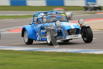 © Octane Photographic Ltd. Motors TV day – Donington Park, Saturday 31st March 2012. Caterham Graduates – Super and Sigma classes. Digital ref : 0269cb7d6335