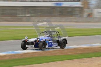 © Octane Photographic Ltd. Motors TV day – Donington Park, Saturday 31st March 2012. Caterham Graduates – Super and Sigma classes. Digital ref : 0269lw7d8960