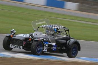 © Octane Photographic Ltd. Motors TV day – Donington Park, Saturday 31st March 2012. Caterham Graduates – Super and Sigma classes. Digital ref : 0269lw7d9034