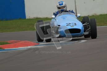 © Octane Photographic Ltd. Motors TV day – Donington Park,  Saturday 31st March 2012. Formula Junior Free practice, Keith Roach - Condor SII. Digital ref : 0264cb7d5563