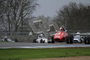 © Octane Photographic Ltd. Motors TV day – Donington Park,  Saturday 31st March 2012. Formula Junior Free practice, Michael Waller - PM Poggi. Digital ref : 0264lw7d6499