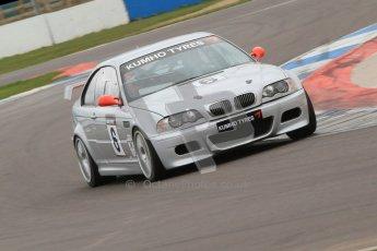 © Octane Photographic Ltd. Motors TV day – Donington Park,  Saturday 31st March 2012. Kumho BMW Championship, Richard Bacon - BMW E46 M3. Digital ref : 0266cb7d5974