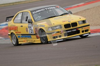 © Octane Photographic Ltd. Motors TV day – Donington Park, Saturday 31st March 2012. Kumho BMW Championship, Greg Marking - BMW 318is. Digital ref : 0266cb7d6005