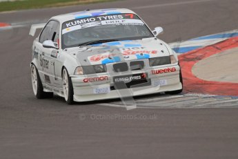 © Octane Photographic Ltd. Motors TV day – Donington Park, Saturday 31st March 2012. Kumho BMW Championship, Garrie Whittaker - BMW E36 M3. Digital ref : 0266cb7d6035