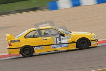 © Octane Photographic Ltd. Motors TV day – Donington Park, Saturday 31st March 2012. Kumho BMW Championship, Tom Wrigley - BMW E36 M3. Digital ref : 0266cb7d6065