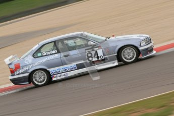 © Octane Photographic Ltd. Motors TV day – Donington Park, Saturday 31st March 2012. Kumho BMW Championship, Philip Grayson - BMW 318is Coupe (E44). Digital ref : 0266cb7d6096