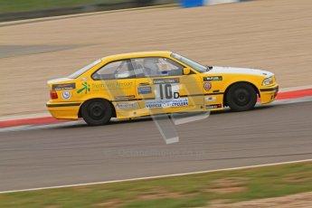 © Octane Photographic Ltd. Motors TV day – Donington Park,  Saturday 31st March 2012. Kumho BMW Championship, Ian Crisp - BMW 318i. Digital ref : 0266cb7d6124