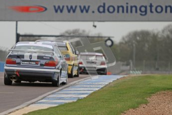 © Octane Photographic Ltd. Motors TV day – Donington Park, Saturday 31st March 2012. Kumho BMW Championship, Philip Grayson - BMW 318is Coupe (E44). Digital ref : 0266cb7d6154