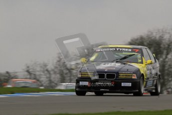 © Octane Photographic Ltd. Motors TV day – Donington Park, Saturday 31st March 2012. Kumho BMW Championship, James Ford - BMW 318ti. Digital ref : 0266lw7d7785