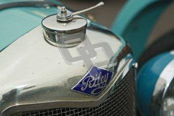 © Octane Photographic Ltd. Motors TV day – Donington Park, Saturday 31st March 2012. VSCC Pre-War Sportscars, Clive Temple - Riley Brooklands. Digital ref : 0265cb1d8874