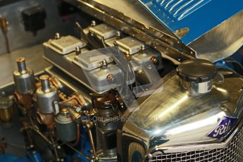 © Octane Photographic Ltd. Motors TV day – Donington Park, Saturday 31st March 2012. VSCC Pre-War Sportscars, James Potter - Riley Brooklands. Digital ref : 0265cb1d8878