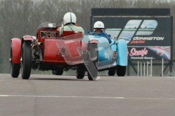 © Octane Photographic Ltd. Motors TV day – Donington Park, Saturday 31st March 2012. VSCC Pre-War Sportscars, Neil Twyman - Alfa Romeo 8C. Digital ref : 0265cb1d9171