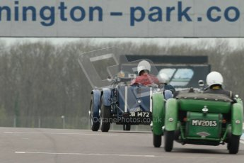 © Octane Photographic Ltd. Motors TV day – Donington Park, Saturday 31st March 2012. VSCC Pre-War Sportscars. Digital ref : 0265cb1d9189