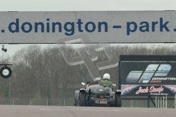 © Octane Photographic Ltd. Motors TV day – Donington Park, Saturday 31st March 2012. VSCC Pre-War Sportscars, Nigel Batchelor - Bentley 4 1/2 Blower. Digital ref : 0265cb1d9194