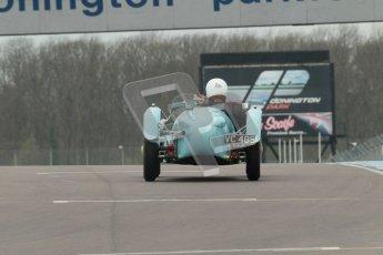 © Octane Photographic Ltd. Motors TV day – Donington Park,  Saturday 31st March 2012. VSCC Pre-War Sportscars. Digital ref : 0265cb1d9200