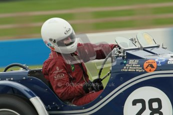 © Octane Photographic Ltd. Motors TV day – Donington Park, Saturday 31st March 2012. VSCC Pre-War Sportscars, Brandon Smith-Hilliard - MG K3. Digital ref : 0265cb1d9269