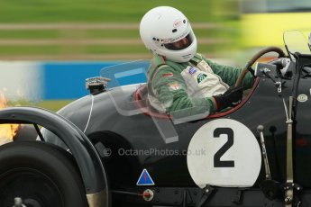 © Octane Photographic Ltd. Motors TV day – Donington Park, Saturday 31st March 2012. VSCC Pre-War Sportscars, Nigel Batchelor - Bentley 4 1/2 Blower. Digital ref : 0265cb1d9302