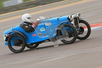 © Octane Photographic Ltd. Motors TV day – Donington Park,  Saturday 31st March 2012. VSCC Pre-War Sportscars, John Everett - Austin 7 Sports Ulster. Digital ref : 0265cb7d5754