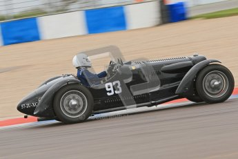 © Octane Photographic Ltd. Motors TV day – Donington Park,  Saturday 31st March 2012. VSCC Pre-War Sportscars, Marcus Black - Talbot Lago T23. Digital ref : 0265cb7d5761