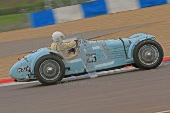 © Octane Photographic Ltd. Motors TV day – Donington Park, Saturday 31st March 2012. VSCC Pre-War Sportscars, John Guyatt - Talbot Lago T150C. Digital ref : 0265cb7d5770