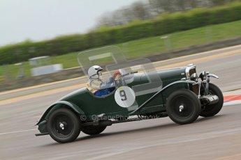 © Octane Photographic Ltd. Motors TV day – Donington Park, Saturday 31st March 2012. VSCC Pre-War Sportscars, Norman Pemberton - Talbot 95/105. Digital ref : 0265cb7d5774