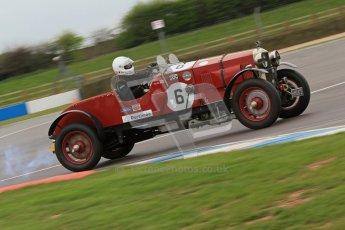 © Octane Photographic Ltd. Motors TV day – Donington Park, Saturday 31st March 2012. VSCC Pre-War Sportscars, Duncan Arthurs - Invicta Sport Tourer. Digital ref : 0265cb7d5817