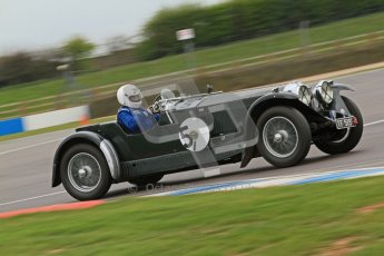 © Octane Photographic Ltd. Motors TV day – Donington Park, Saturday 31st March 2012. VSCC Pre-War Sportscars, Trevor Swete - Invicta S Type. Digital ref : 0265cb7d5842