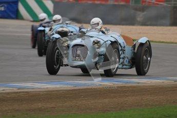 © Octane Photographic Ltd. Motors TV day – Donington Park, Saturday 31st March 2012. VSCC Pre-War Sportscars, John Guyatt - Talbot Lago T150C. Digital ref : 0265lw7d7086