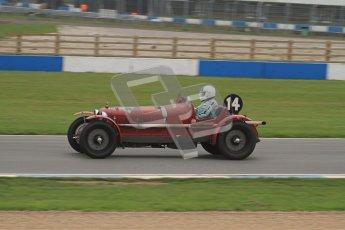 © Octane Photographic Ltd. Motors TV day – Donington Park, Saturday 31st March 2012. VSCC Pre-War Sportscars, Neil Twyman - Alfa Romeo 8C. Digital ref : 0265lw7d7154