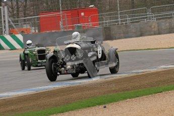 © Octane Photographic Ltd. Motors TV day – Donington Park,  Saturday 31st March 2012. VSCC Pre-War Sportscars, Nigel Batchelor - Bentley 4 1/2 Blower. Digital ref : 0265lw7d7155