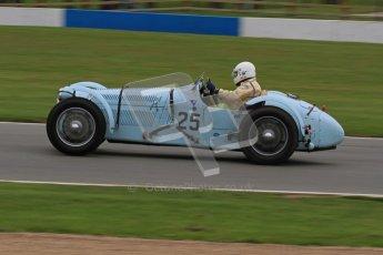 © Octane Photographic Ltd. Motors TV day – Donington Park, Saturday 31st March 2012. VSCC Pre-War Sportscars, John Guyatt - Talbot Lago T150C. Digital ref : 0265lw7d7243
