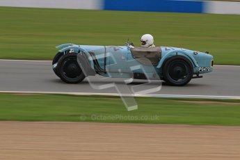 © Octane Photographic Ltd. Motors TV day – Donington Park, Saturday 31st March 2012. VSCC Pre-War Sportscars, Clive Temple - Riley Brooklands. Digital ref : 0265lw7d7290