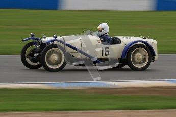 © Octane Photographic Ltd. Motors TV day – Donington Park, Saturday 31st March 2012. VSCC Pre-War Sportscars, David Furnell - Riley Brooklands. Digital ref : 0265lw7d7337