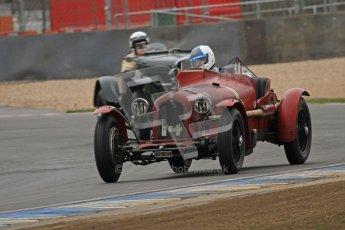 © Octane Photographic Ltd. Motors TV day – Donington Park, Saturday 31st March 2012. VSCC Pre-War Sportscars, Neil Twyman - Alfa Romeo 8C. Digital ref : 0265lw7d7408