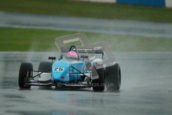 © Octane Photographic Ltd. MSVR - Donington Park, 29th April 2012 - F3 Cup. Kat Impey, Dallara F302. Digital ref : 0311lw1d5635
