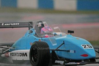 © Octane Photographic Ltd. MSVR - Donington Park, 29th April 2012 - F3 Cup. Kat Impey, Dallara F302. Digital ref : 0311lw1d5644
