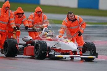 © Octane Photographic Ltd. MSVR - Donington Park, 29th April 2012 - F3 Cup. Dave Karaskas, Dallara F300. Digital ref : 0311lw1d6243