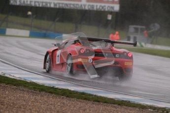 © Octane Photographic Ltd. MSVR - Donington Park, 29th April 2012 - GT Cup. Peter Rowbottom, Ferrari 430 Spyder. Digital ref : 0312lw1d6647